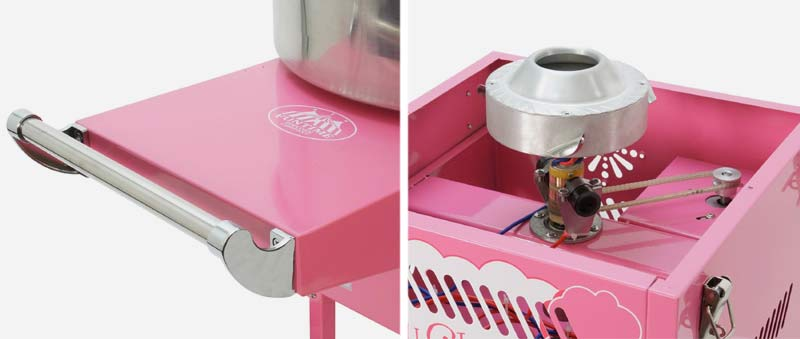 FunTime Commercial Cotton Candy Maker With Cart