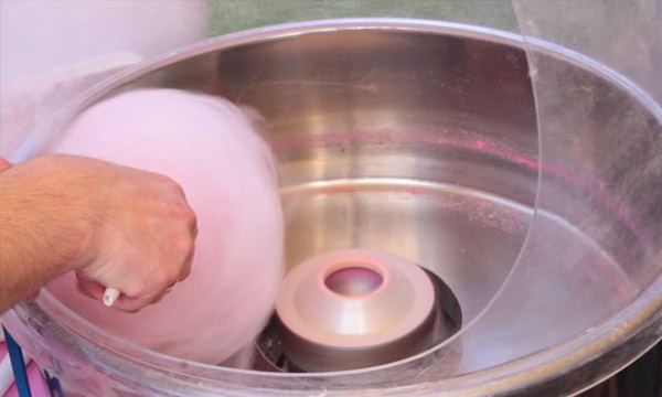 how to spin cotton candy