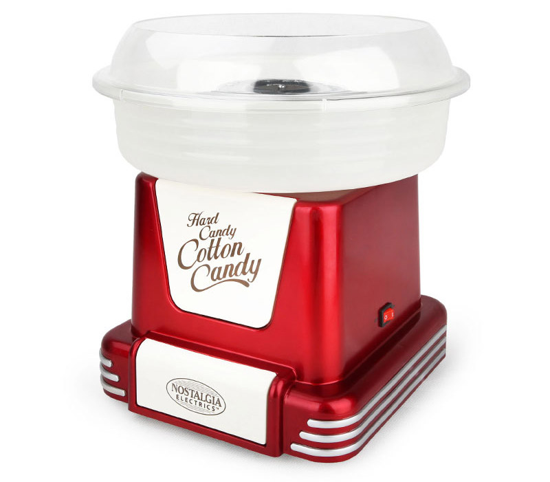 nostalgia electrics cotton candy maker
