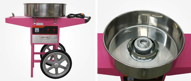 VIVO Commercial Cotton Candy Machine With Cart